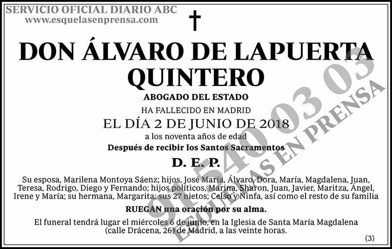 Álvaro de Lapuerta Quintero